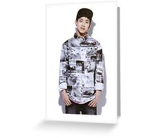 Day6 - Dowoon Greeting Card
