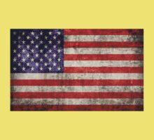 Antique American Flag Kids Tee