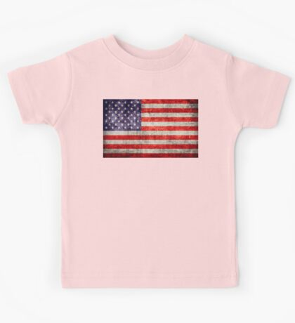 Antique American Flag Kids Tee