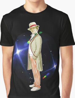 The 5th Doctor - Peter Davison Graphic T-Shirt