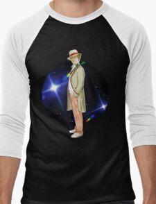 The 5th Doctor - Peter Davison Men's Baseball ¾ T-Shirt