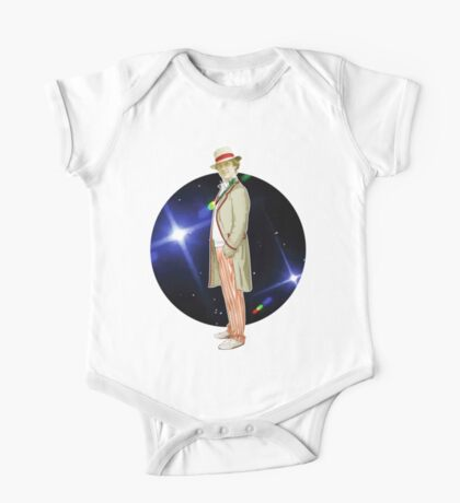The 5th Doctor - Peter Davison One Piece - Short Sleeve