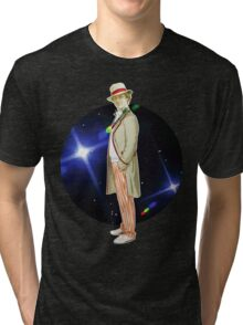 The 5th Doctor - Peter Davison Tri-blend T-Shirt