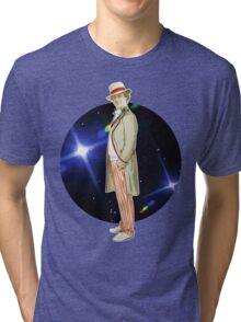 The 5th Doctor - Peter Davison Tri-blend T-Shirt