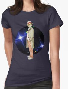 The 5th Doctor - Peter Davison Womens Fitted T-Shirt