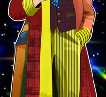 The 6th Doctor - Colin Baker Sticker