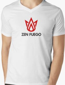 Zen Fuego Mens V-Neck T-Shirt