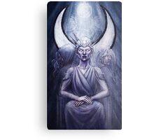 The High Priestess - Hecate Metal Print