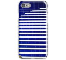 Blue Glass Tower ^ iPhone Case/Skin