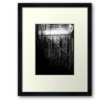 The Staircase Framed Print