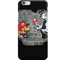 Super Mario - mushrooms addicted iPhone Case/Skin