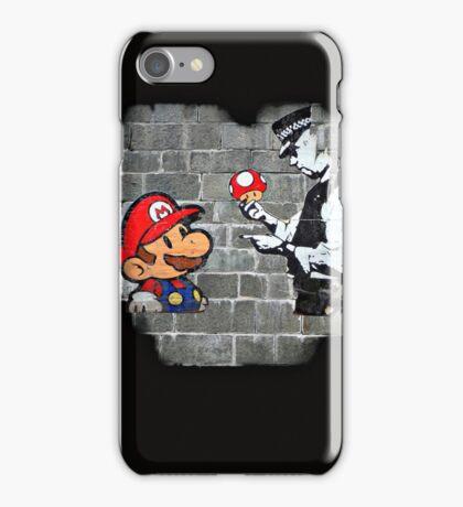 Super Mario - mushrooms addicted iPhone Case/Skin