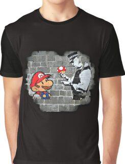 Super Mario - mushrooms addicted Graphic T-Shirt