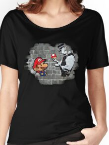 Super Mario - mushrooms addicted Women's Relaxed Fit T-Shirt