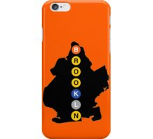 Brooklyn Subway iPhone Case/Skin