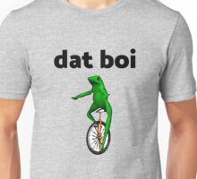 dat boi unicycle frog me_irl meme Unisex T-Shirt