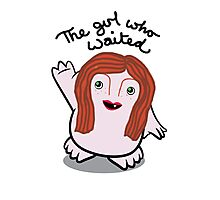 Dr Who Amy Pond Adipose Photographic Print
