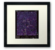USGS TOPO Map Alabama AL Grayson 304029 2000 24000 Inverted Framed Print