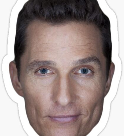 Matthew McConaughey Sticker