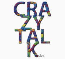 Crazy Talk stream of colors Kids Tee