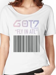 GOT7 Fly in ATL (ATLANTA) Women's Relaxed Fit T-Shirt