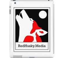 Red Husky Media Logo iPad Case/Skin