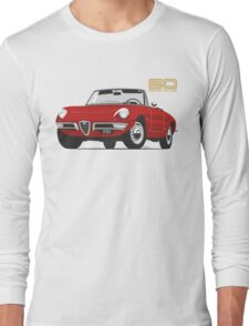 Alfa Romeo Duetto Series 1 Spider red Long Sleeve T-Shirt