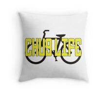 CHUG LIFE! Throw Pillow