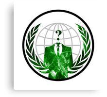 Anonymous Logo Canvas Print