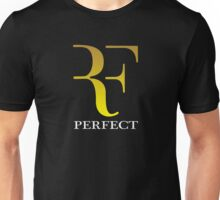 rf, roger federer, roger, federer, tennis, wimbledon, sport, ball, racket, tournament, legend, champion, nadal, grass, us open, perfect, trending, cool. Unisex T-Shirt