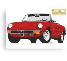 Alfa Romeo Series 2 Spider red Canvas Print