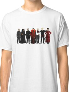 Doctor Who - The Seven Masters Classic T-Shirt