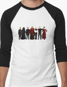 Doctor Who - The Seven Masters Men's Baseball ¾ T-Shirt