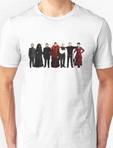 Doctor Who - The Seven Masters Unisex T-Shirt