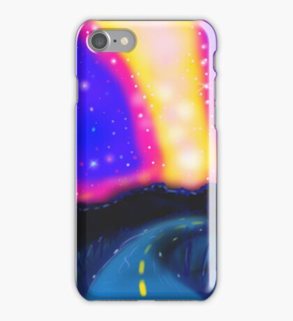From the Road to the Milky Way iPhone Case/Skin