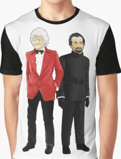 Doctor Who - Third Doctor and The Master Graphic T-Shirt
