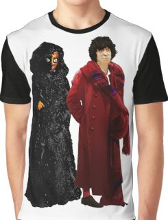 Doctor Who - Fourth Doctor and The Master Graphic T-Shirt