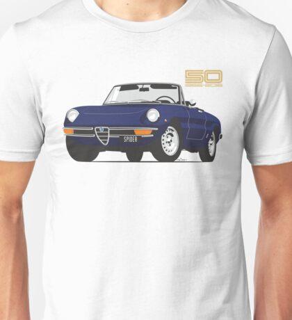 Alfa Romeo Series 2 Spider blue Unisex T-Shirt