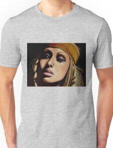 Christina Aguilera Painting Unisex T-Shirt