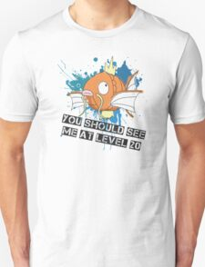 """""""you should see me at level 20"""" T-Shirt"""