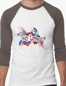my love Men's Baseball ¾ T-Shirt