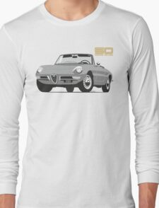 Alfa Romeo Series 2 Spider silver Long Sleeve T-Shirt