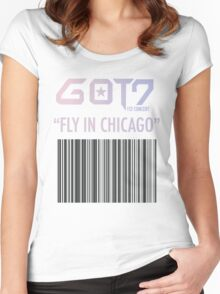 GOT FLY in CHICAGO Women's Fitted Scoop T-Shirt