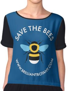Save the Bees - Bumblebee Chiffon Top