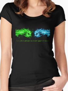 Ingress The World Around You Is Not What It Seems Women's Fitted Scoop T-Shirt