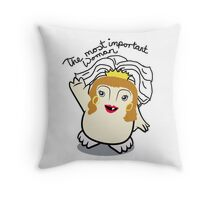 Dr Who Donna Noble Adipose Bride Throw Pillow