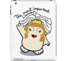 Dr Who Donna Noble Adipose Bride iPad Case/Skin