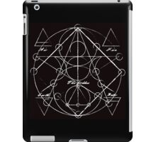 Elements Chart in Black Onyx iPad Case/Skin