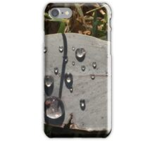 Monday rain iPhone Case/Skin