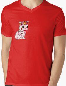 Zombie Kitten Mens V-Neck T-Shirt